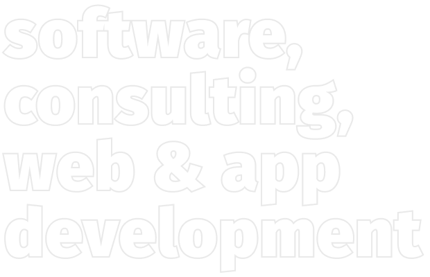 software, consulting, web & app development